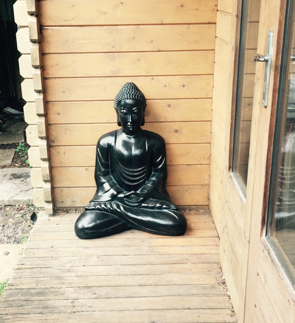 Buddha Outside My Cabin