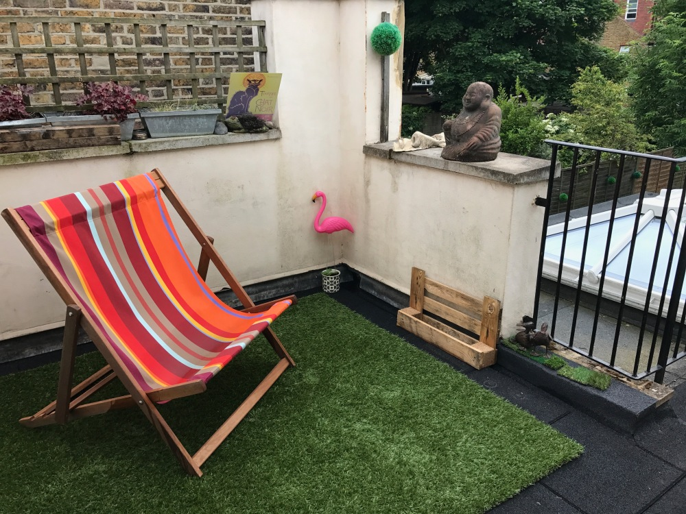 Our current terrace